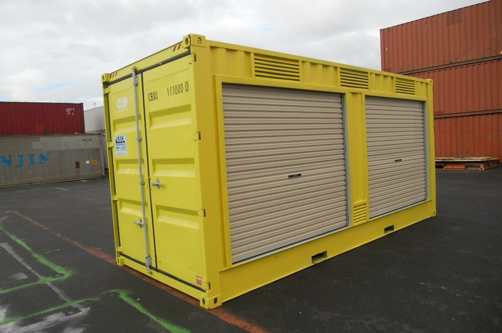 Containers Portable shop